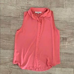 Loft Button Up Tank